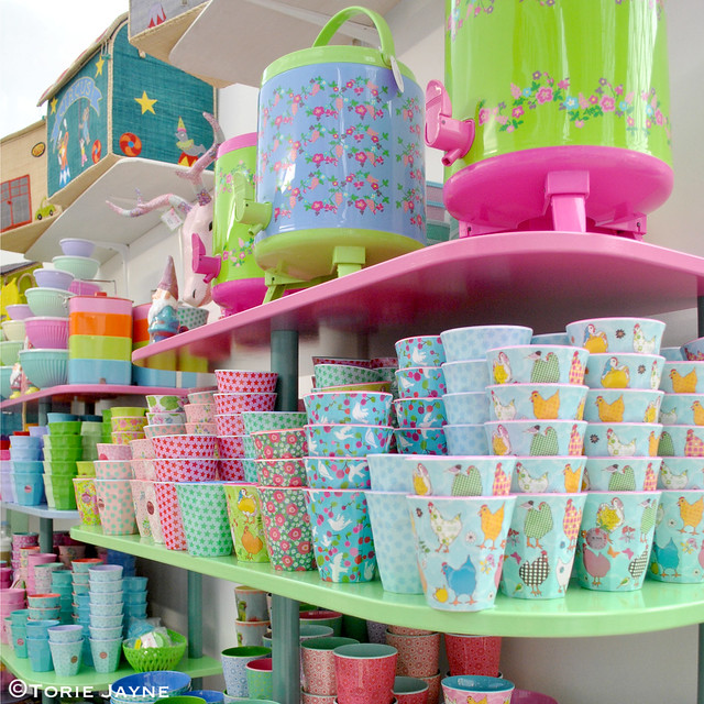 Colourful melamine from Pinks & Green