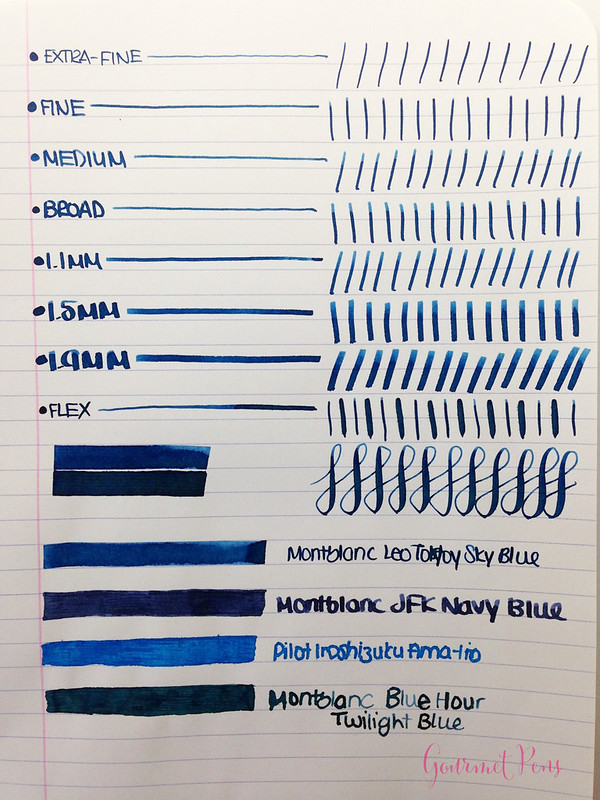 Ink Shot Review Montblanc Leo Tolstoy Sky Blue Ink @AppelboomLaren (10)