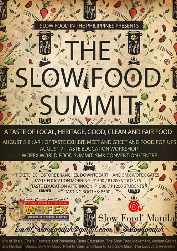 slow food summit_mnl