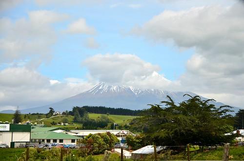 Mt. Taranaki, North Island, New Zealand.