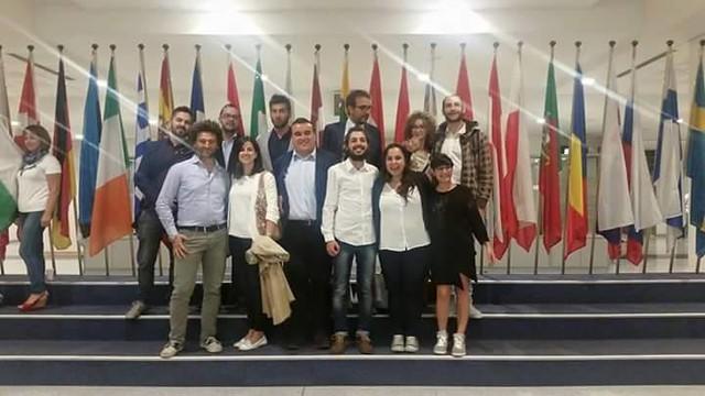 Casamassima- Fabio Rella e Adriano Bizzoco a Bruxelles in qualità di rappresentanti del Partito Democratico (2)