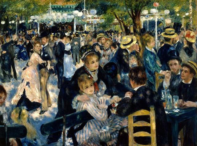 Bal du Moulin de la Galette by Pierre-Auguste Renoir, 1876