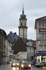Turm der evangelischen Versöhnungskirche