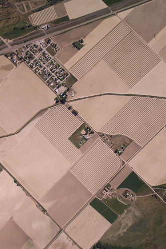 Aerial Photograph, North Platte River Valley