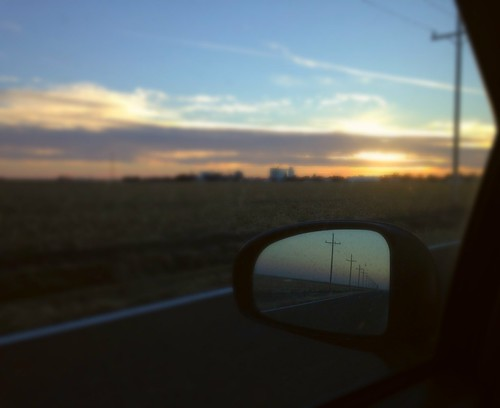 Grainfield Skyline from Highway K-23 Alt