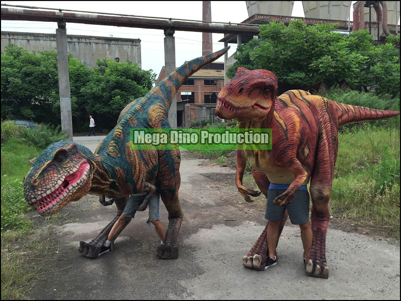 Customized Dinosaur Suits