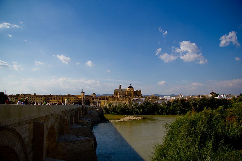 Views of Cordoba from Roman Bridge