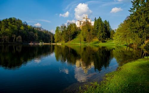castles lakes croatia hrvatska hrvatskozagorje tamron1735284 zagorje nikond600 castletrakošćan laketrakošćan castleschurches