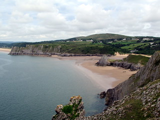 Image of Pobbles Beach. walescoastpath