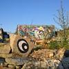 @nomadic_community_gardens what a place with @itsartista.co.uk and the @mos_uk wall #Streetart #streetartlondon #urbanart #graffiti