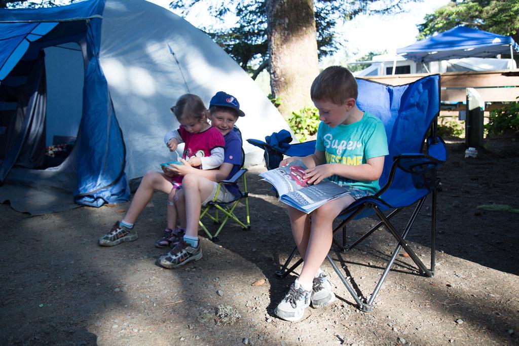 Camping in Tofino, BC