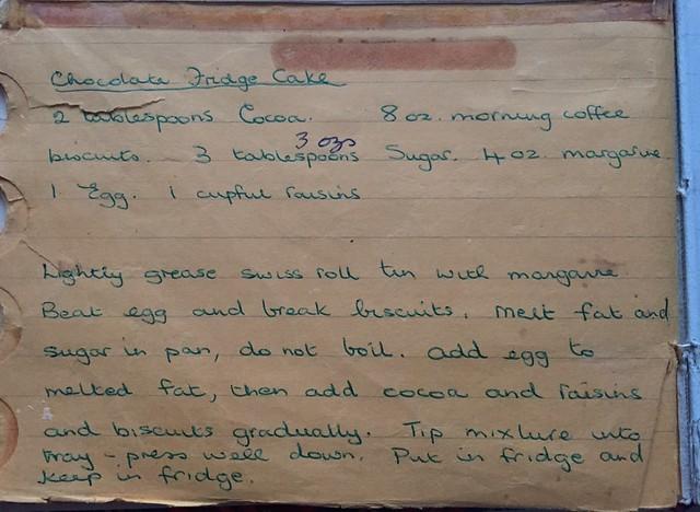 Mum's recipe