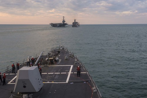 USS Mustin Sustains Maritime Security in the South China Sea
