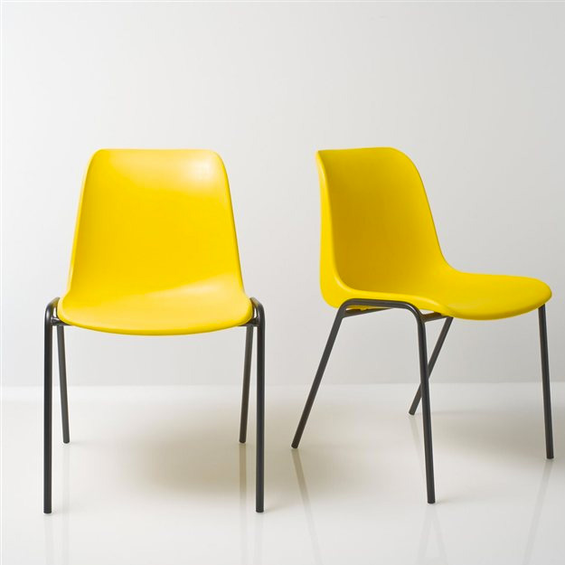 chaise-jaune