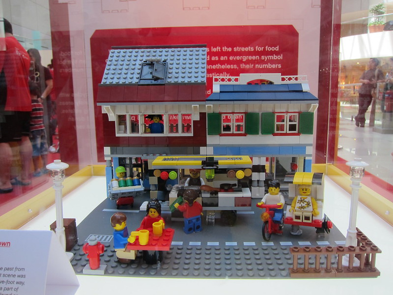 Nostalgic Chinatown Street Scene - 3