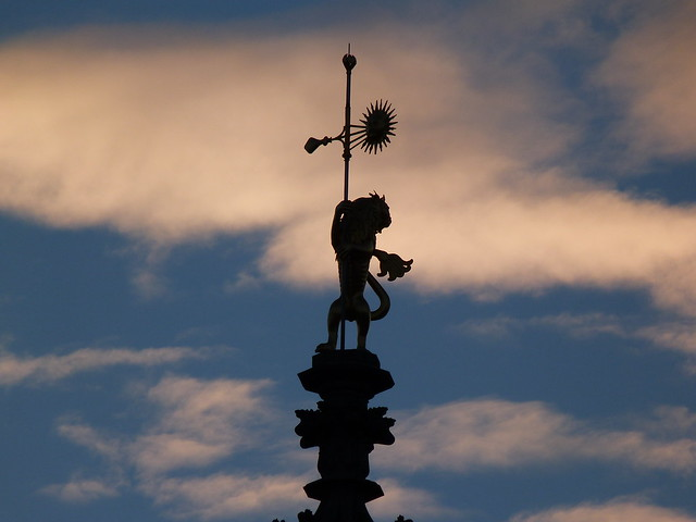 El león, símbolo de la ciudad de Arras y de Flandes