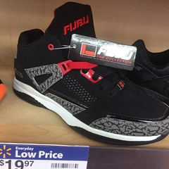 They sellin them Spizike Jordans at Walmart for $19.... yall better get them janks... Hahahahaha #jordans #mj23 #wow #style #fashion #fresh #dmv #diy #swag #illest #sneakerhead #igdaily #instafresh #instagood #artistic #creativity #classic #designer #excl
