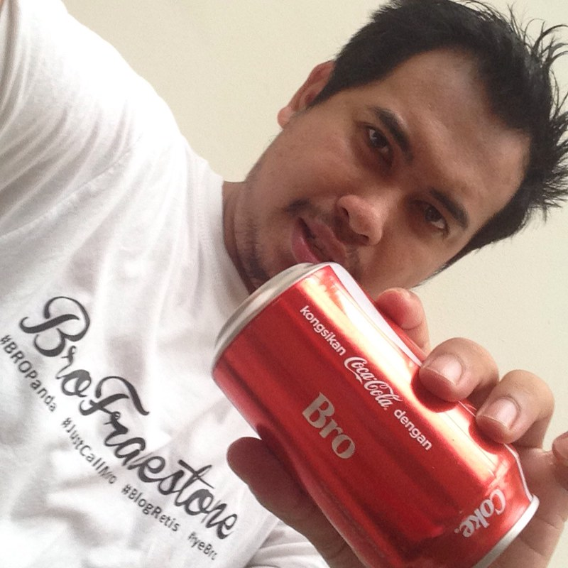 #ShareACokeMY with Bro