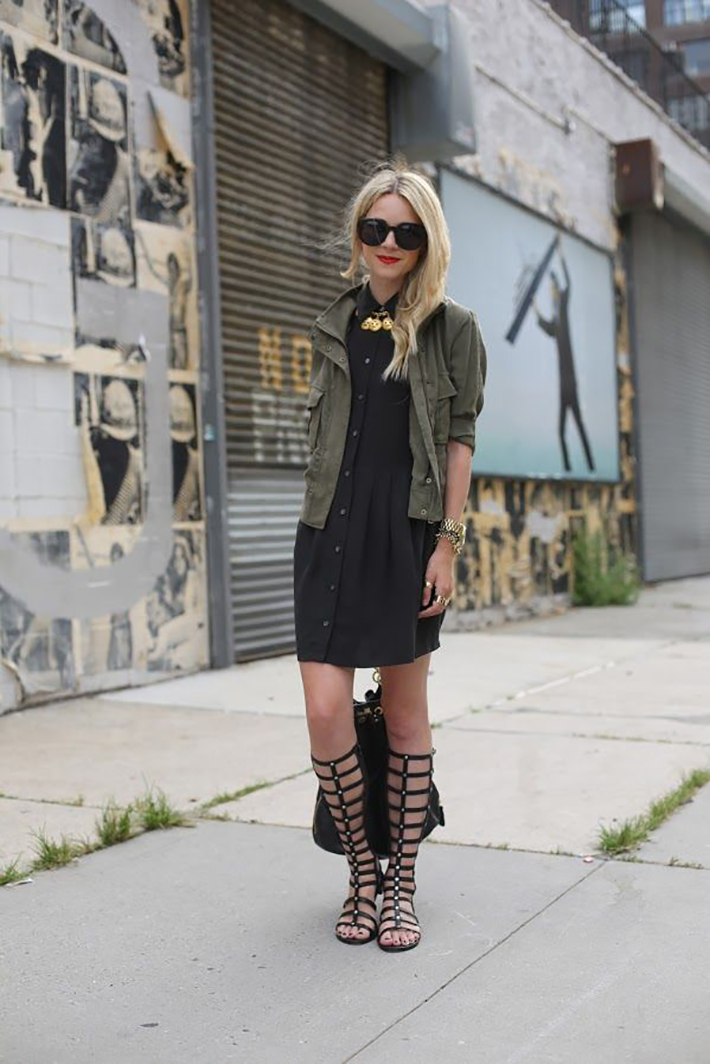Gladiator Sandals Outfits Streetstyle Summer7
