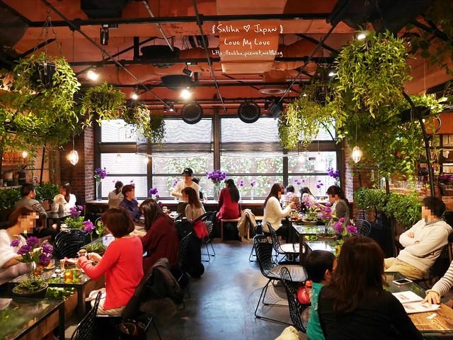 日本東京表參道花店咖啡館Aoyama Flower Market Tea House青山店  (5)