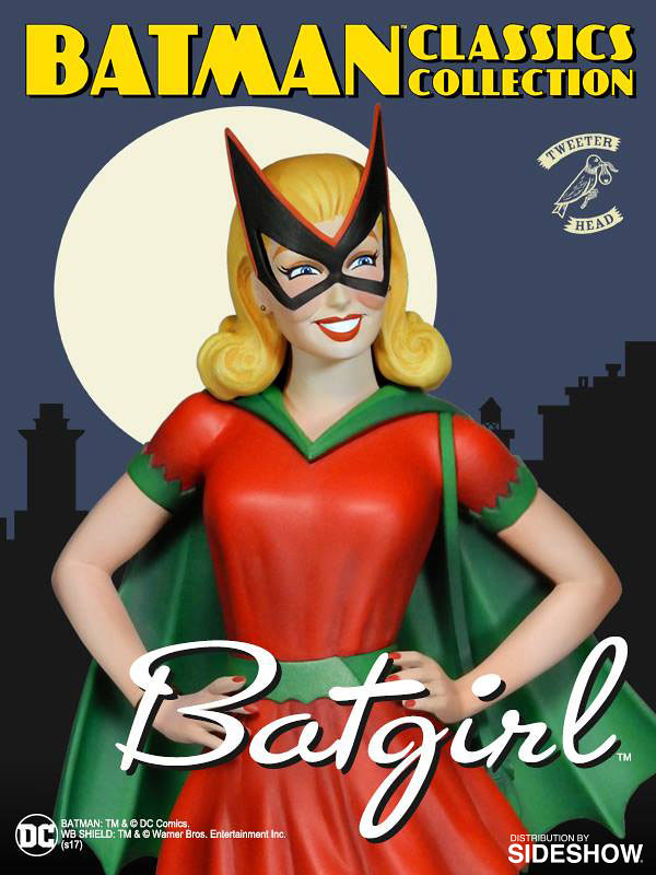 Tweeterhead【初代蝙蝠女孩:貝蒂.凱恩】Batgirl Bette Kane 1/6 比例全身雕像作品