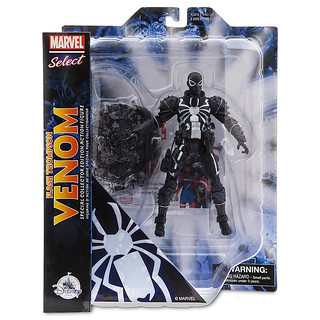 Marvel Select【猛毒特工:閃電.湯普森】Agent Venom Flash Thompson 7 吋可動人偶作品