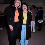 100 Years at the Arvada Center - Eloise Cobell (Right) and Director Melinda Janko (Left)