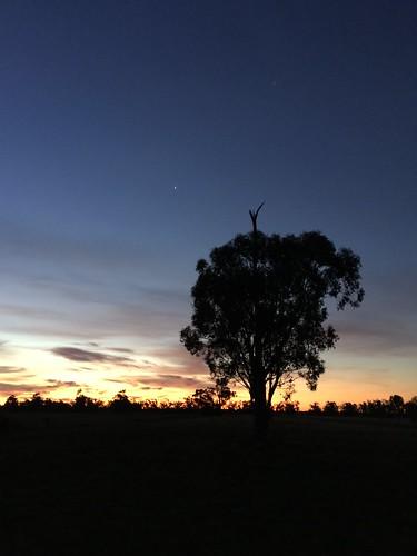 Garema sunset