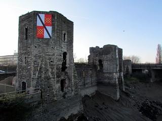 Image of Newport Castle (ruined). welshcoastpath castle newport