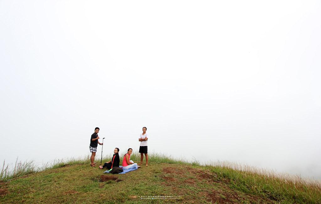 summit of Mt Sembrano