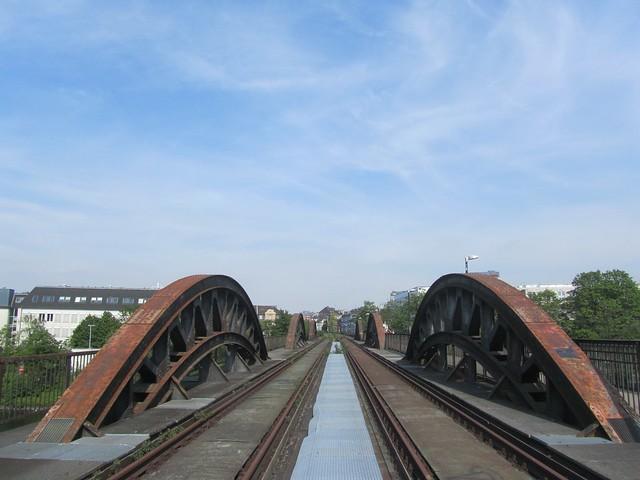 Stadt-Viadukt und Ruhrbrücke Mülheim