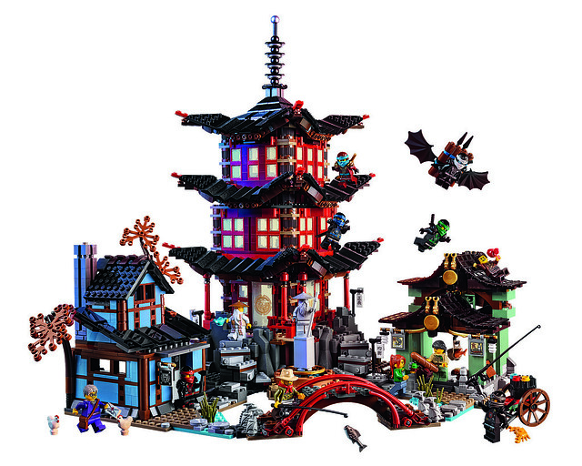LEGO Ninjago 70751 - Temple of Airjitzu