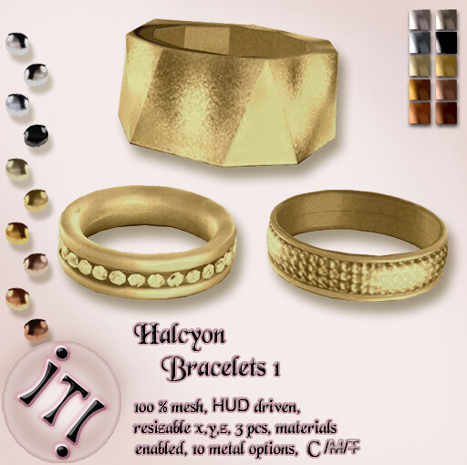 !IT! - Halcyon Bracelets 1 Image