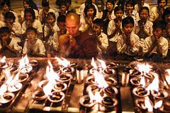 Prayer - Yangon, Myanmar