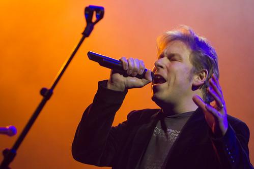 Lennart Stevens tijdens de Top2000 van Roosendaal