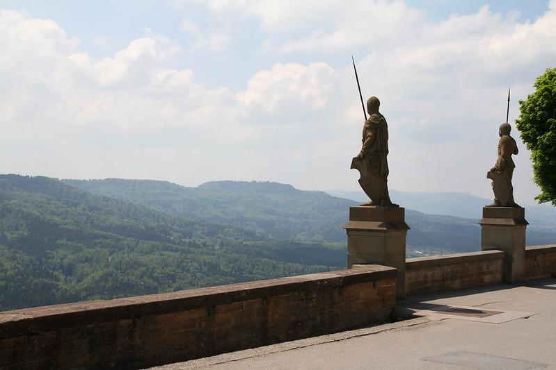 Vistas castillo  Hohenzollern