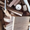 Scrap sorting... #woodworking #cleaning