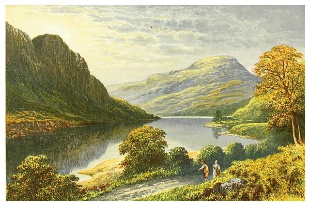 006-Lago Lubnaig-Scottish loch scenery-1882-A.F. Lydon