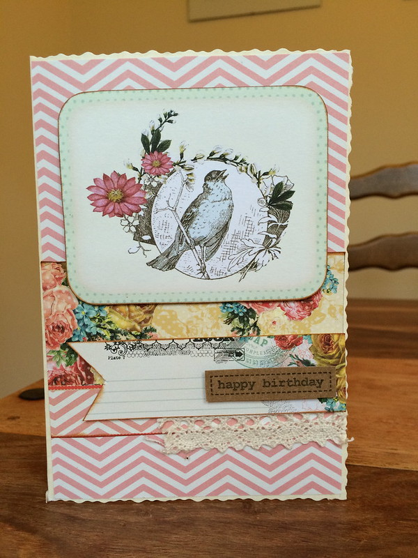 Bird card by StickerKitten