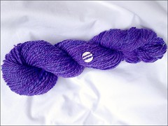 Faerie Purple handspun