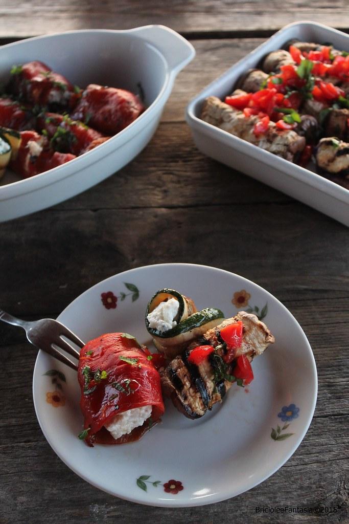 GiovannaA involtini verdure grigliate