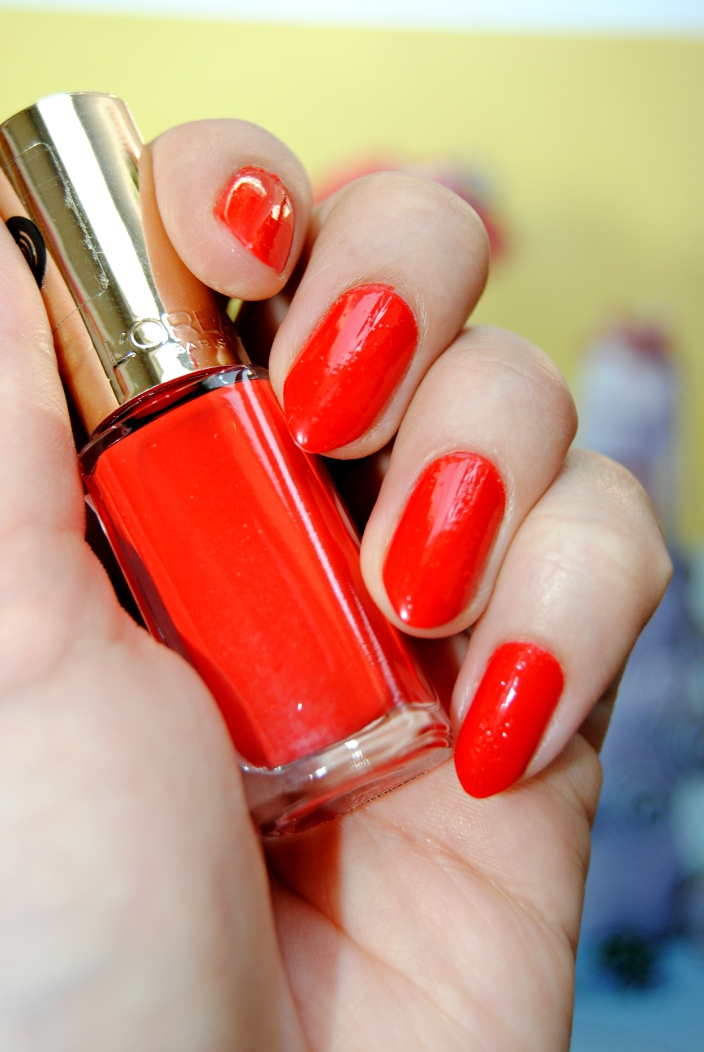 Loreal Nail polish_ Spicy orange (3)