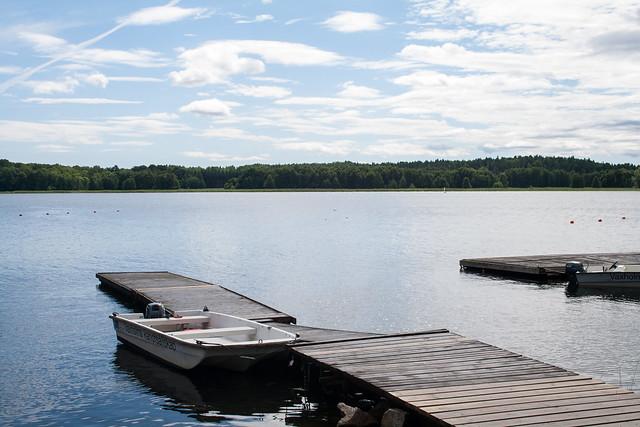 Boat at Erikso, Vaxholm