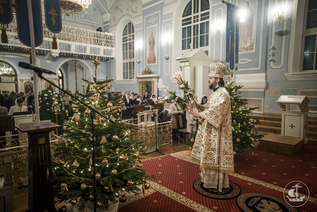 7 января 2017, Рождество Господа Бога и Спаса нашего Иисуса Христа / 7 January 2017, The Nativity of Our Lord, God, and Savior Jesus Christ