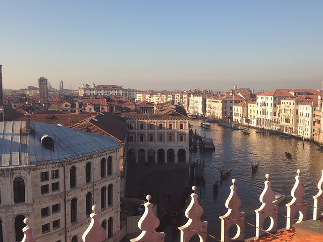 From the rooftop - Fondaco dei Tedeschi