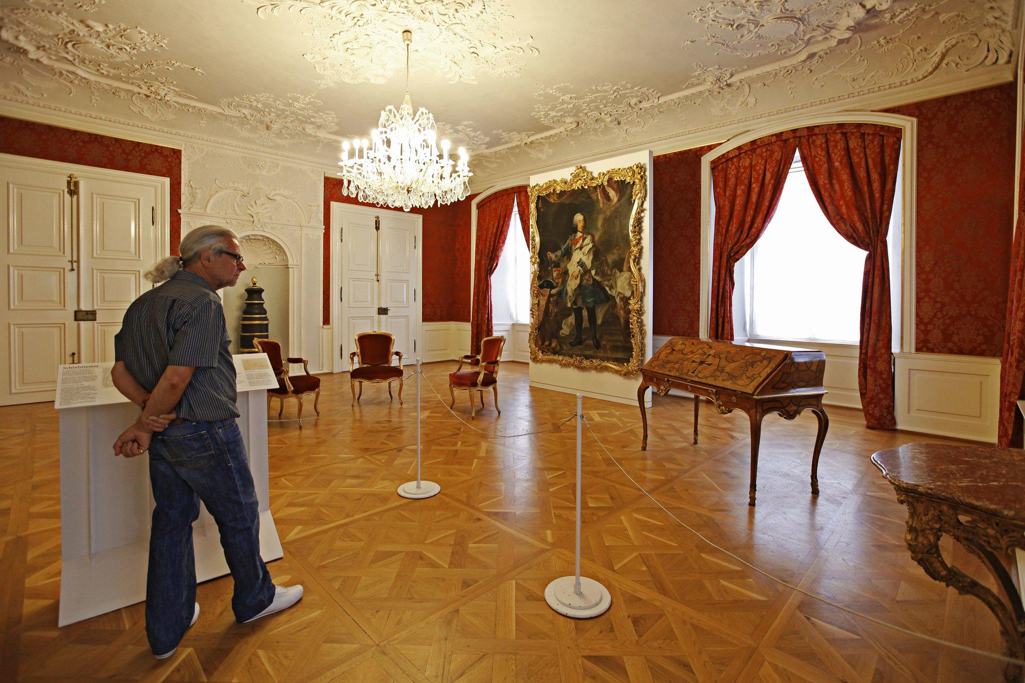 Ausstellungssaal im Deutschordensschloss.