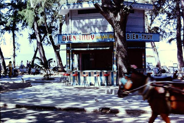 Vung Tau Waterfront 1967 - Photo by Chris Chubb