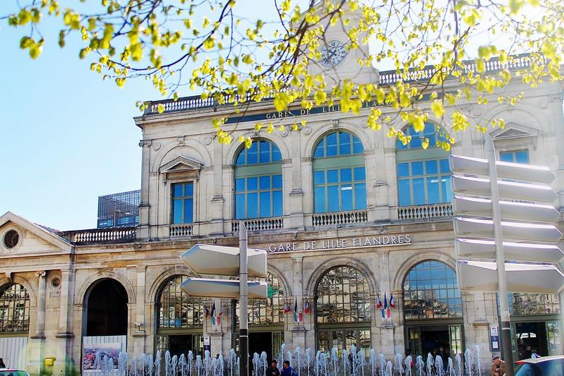 Drawing Dreaming - Guia de Visita de Lille - Gare de Lille