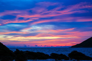 Bright sunset at Andaman sea | by Phuketian.S