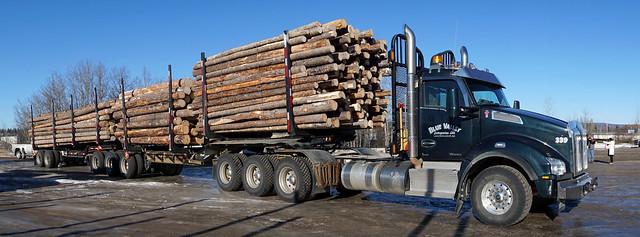 Photo:Logging trailers built in Vanderhoof a boon to industry By BC Gov Photos